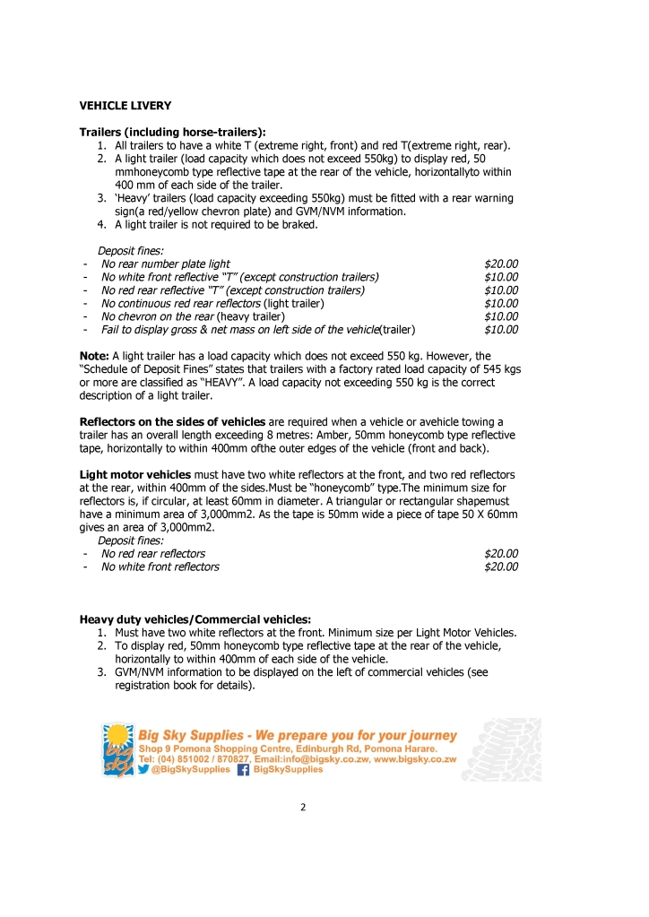 Big Sky - Roadside checks - Notes for the cubby hole (No. 9 Oct-14)-1.pdf2