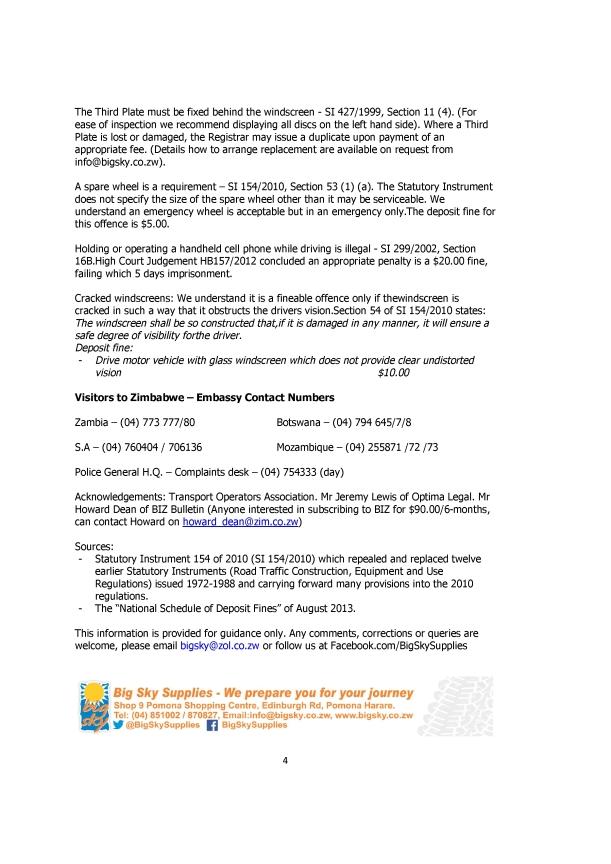 Big Sky - Roadside checks - Notes for the cubby hole (No. 9 Oct-14)-1.pdf4